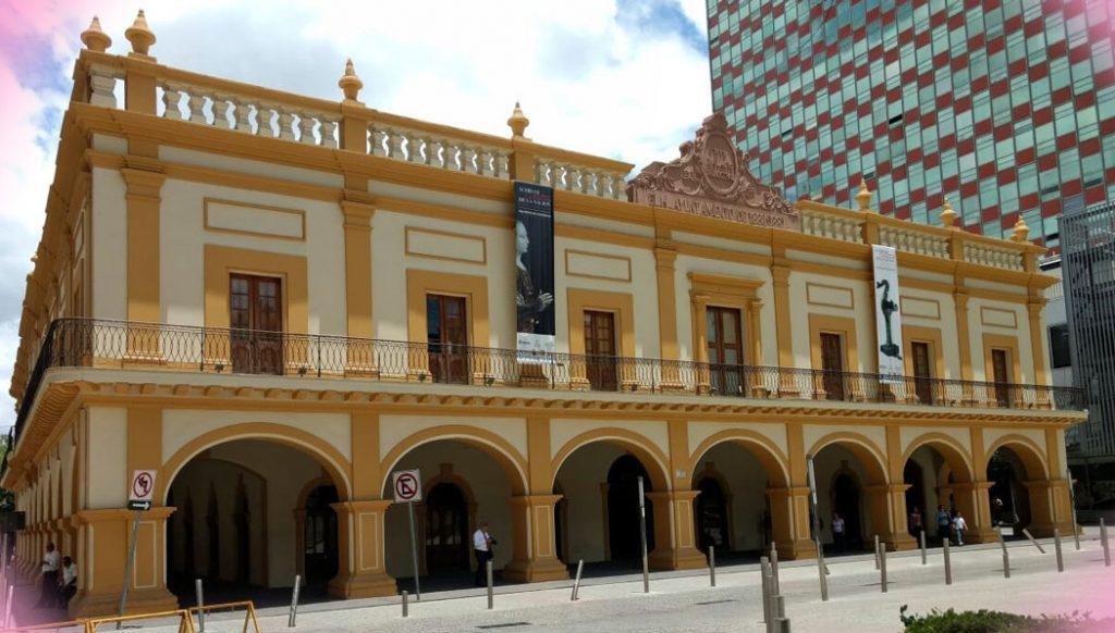 El archivo histórico, un edificio famoso en Monterrey