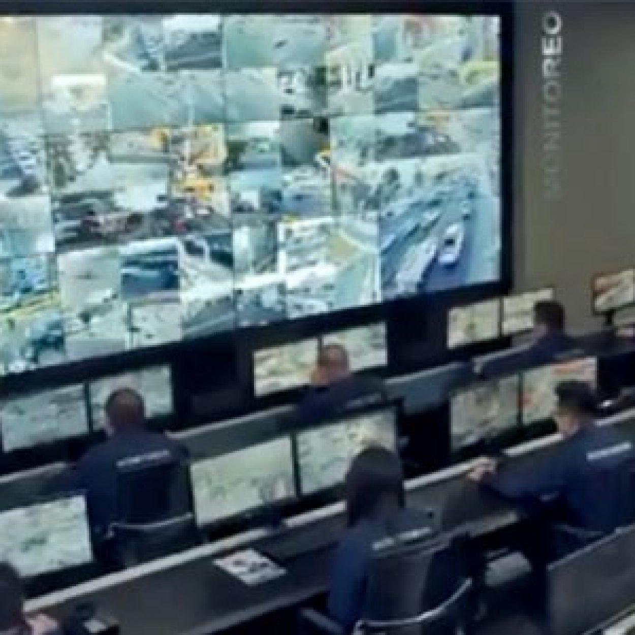 Cámaras y videovigilancia de la policía de Monterrey